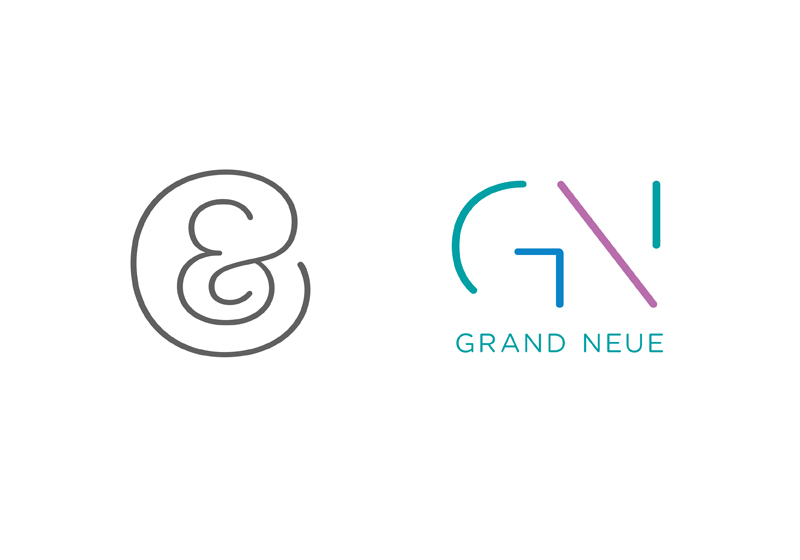 Kith & Kin Monogram, Grand Neue Logotype