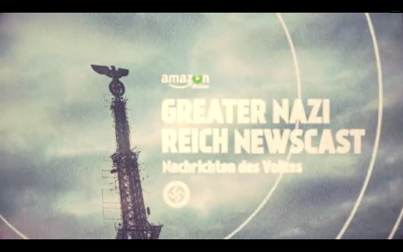 Sam Keehan | Amazon - Man In The High Castle Newscast