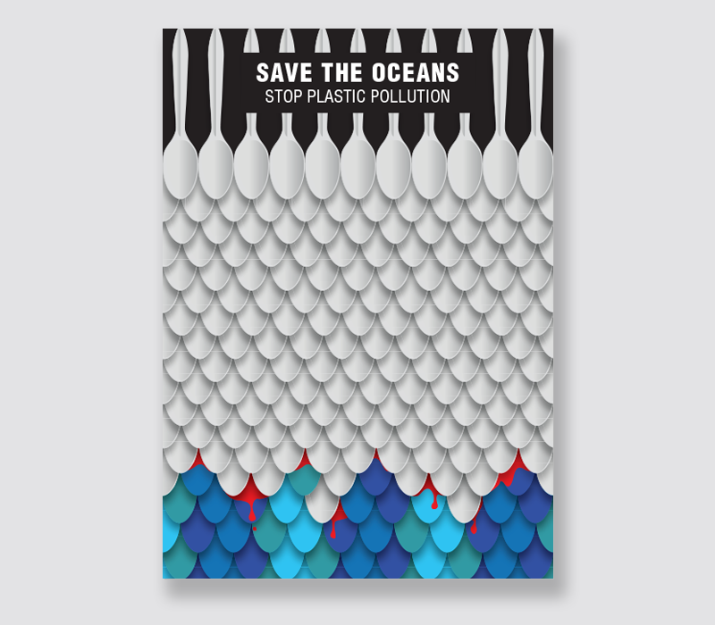 Save The Oceans - Stop Plastic Pollution